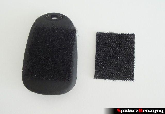 808 HD Car Key Micro Camera 16 z mocowaniem na rzepę