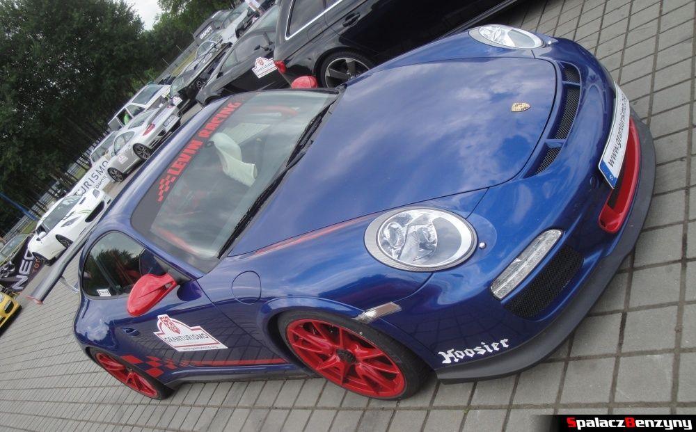 Porsche GT3 niebieskie na Gran Turismo Polonia 2013