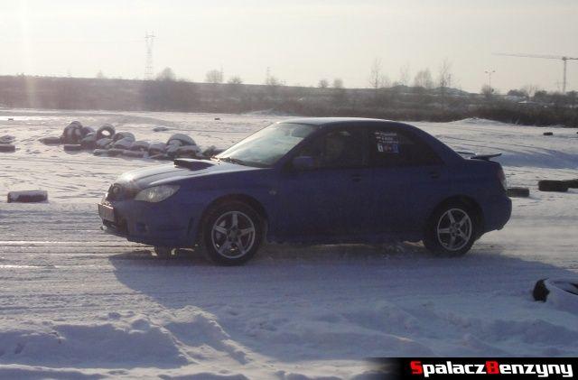 Subaru Impreza WRX niebieska na RS WOŚP na Torze w Lublinie 2013