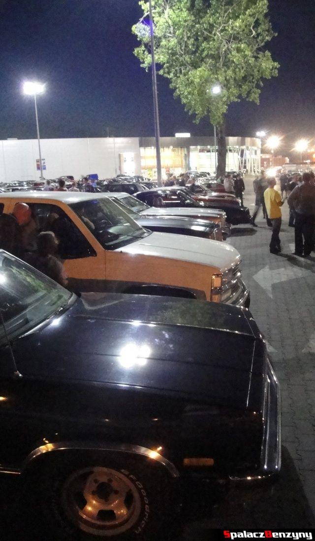 Ameryka�skie samochody na Lubelskie Klasyki Noc�