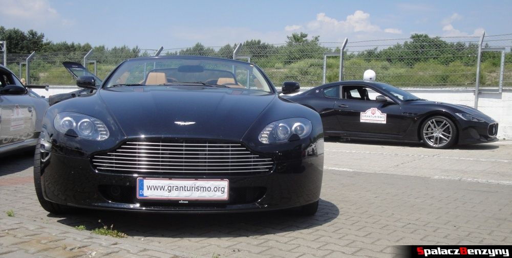 Aston Martin V8 Vantage i Maserati GranTurismo na Gran Turismo Polonia 2013