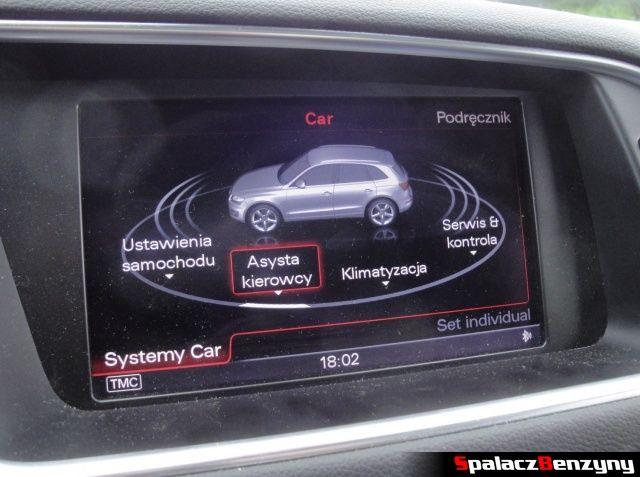 Asysta kierowcy w MMI w Audi Q5