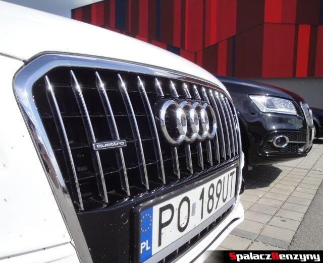 Atrapa chłodnicy Audi Q5 3.0 TFSI i 2.0 TDI