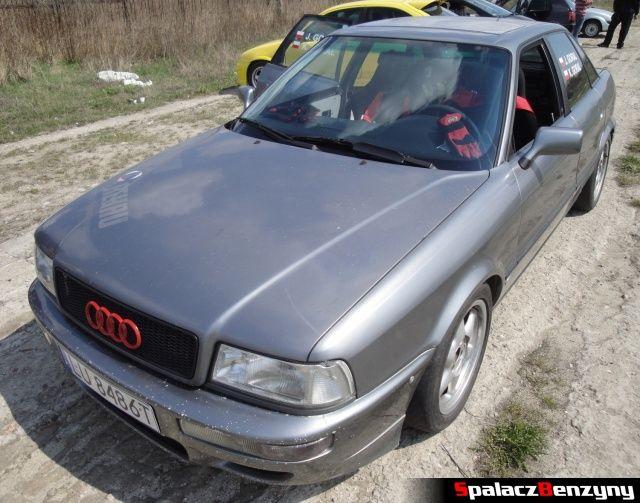 Audi 80 quattro na Rally Sprint Kulka 2012 w Lublinie