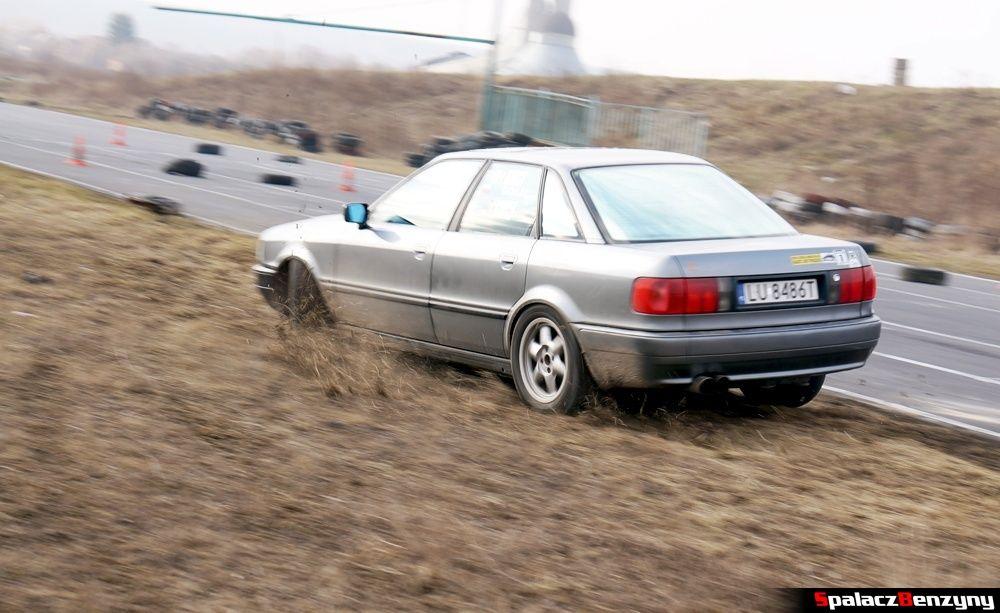 Audi 80 quattro na RS Kulig 2014 Tor Lublin