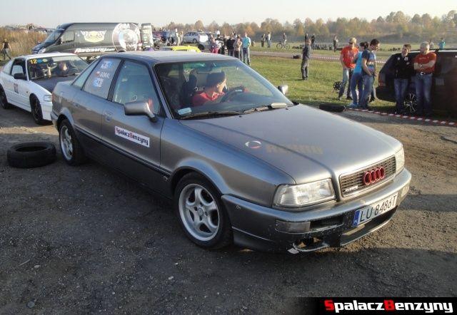 Audi 80 quattro na starcie Rally Sprint Cemex 2012 w Lublinie