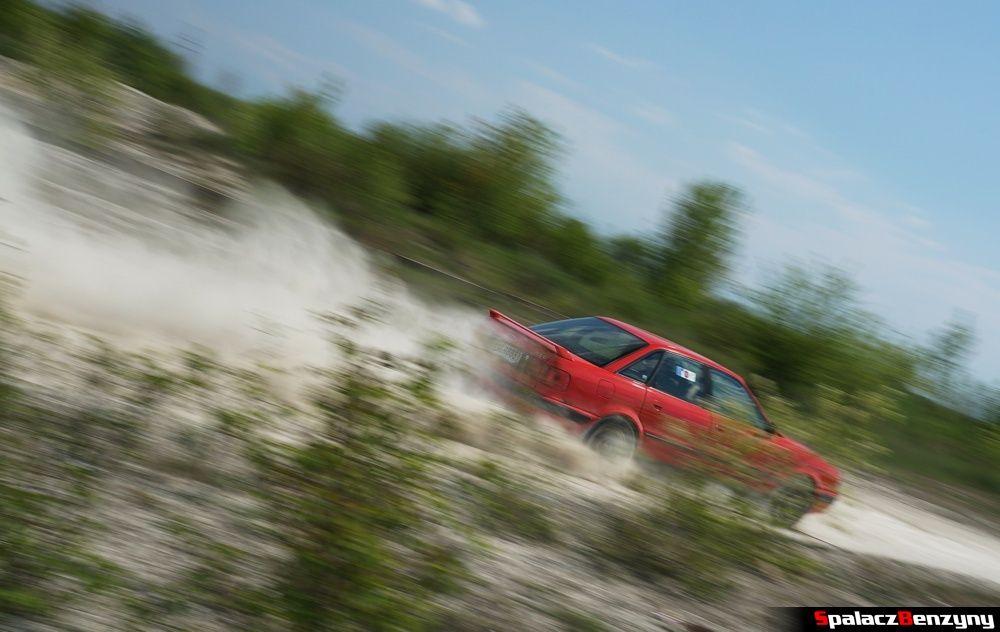 Audi 80 quattro na szutrowy RS Chełm 1 maja 2014