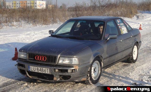 Audi 80 quattro srebrne na RS WOŚP na Torze w Lublinie 2013