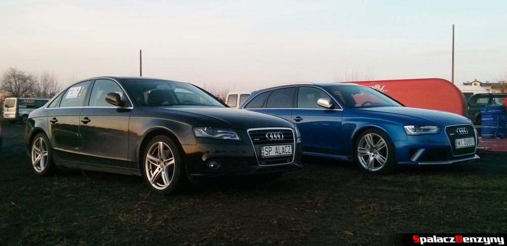 Audi A4 i Audi RS4 na Kryterium Asów 2013