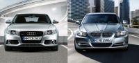 Audi A4 i BMW 3er 2010 miniatura