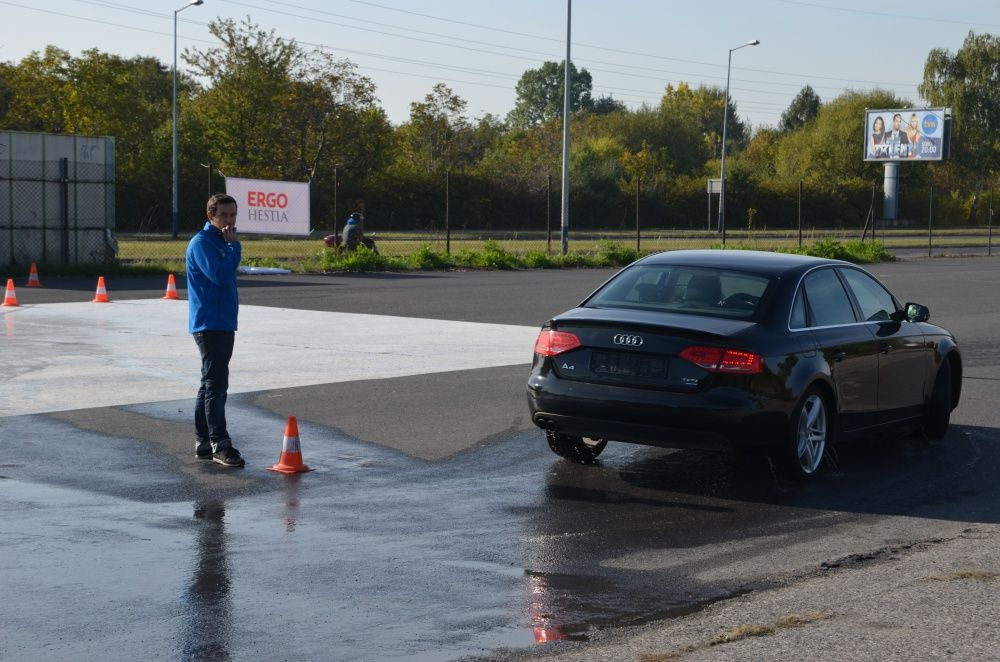 Audi A4 i MK na Ergo Hestia Szkoła Jazdy w Krakowie
