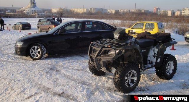 Audi A4 i quad na RS WOŚP na Torze w Lublinie 2013