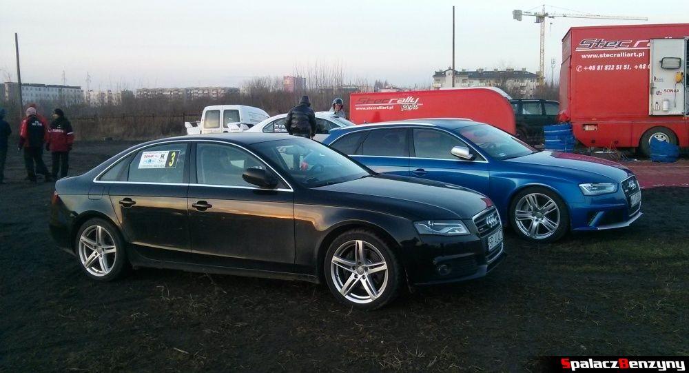 Audi A4 i RS4 na Kryterium Asów 2013