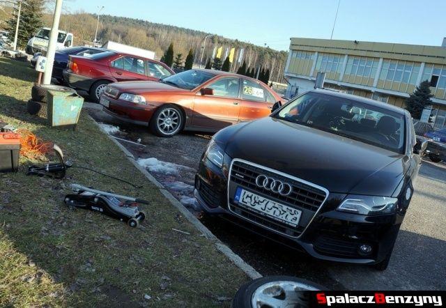 Audi A4 na 2. runda SuperOES Tor Kielce 2015