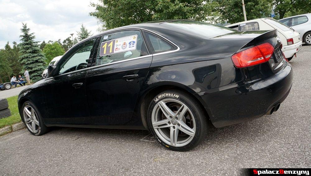 Audi A4 quattro na slicku na 5. runda SuperOES Tor Kielce