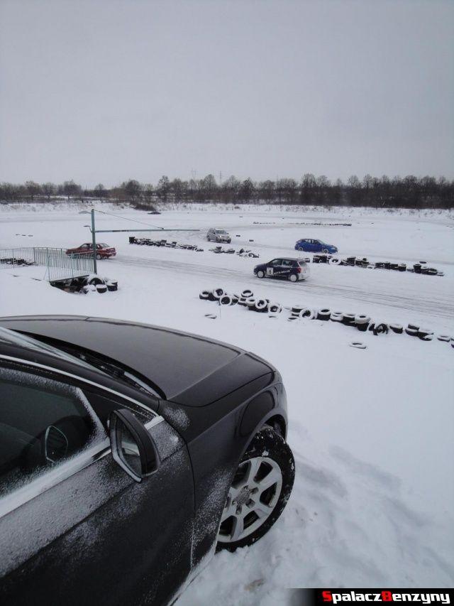 Audi A4 quattro na śnieżnym Torze w Lublinie