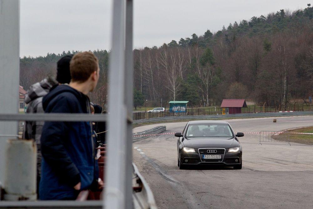 Audi A4 quattro na Superbarbórka 2014 Kielce