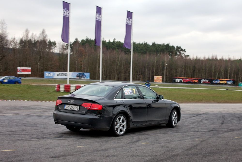 Audi A4 quattro na Superbarbórka 2014 Kielce 3