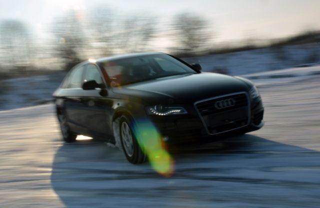 Audi A4 quattro snow ice winter