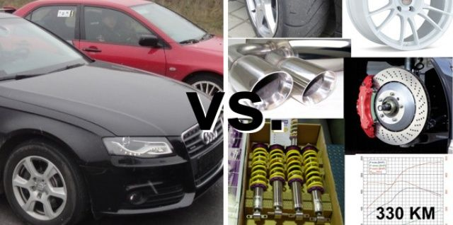 Audi A4 seria vs modyfikacje