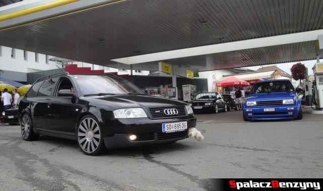 Audi A4 z pluszakiem na Worthersee 2013