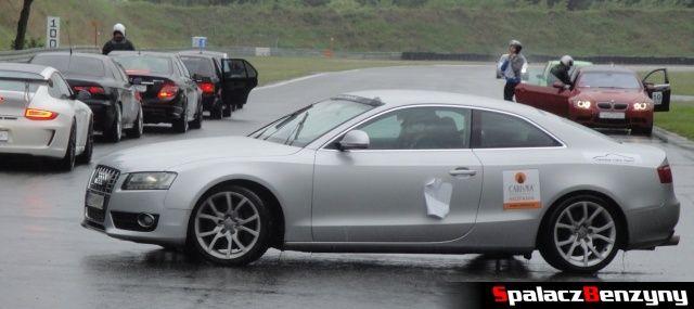 Audi A5 quattro srebrne na TPTD 25 maj 2013