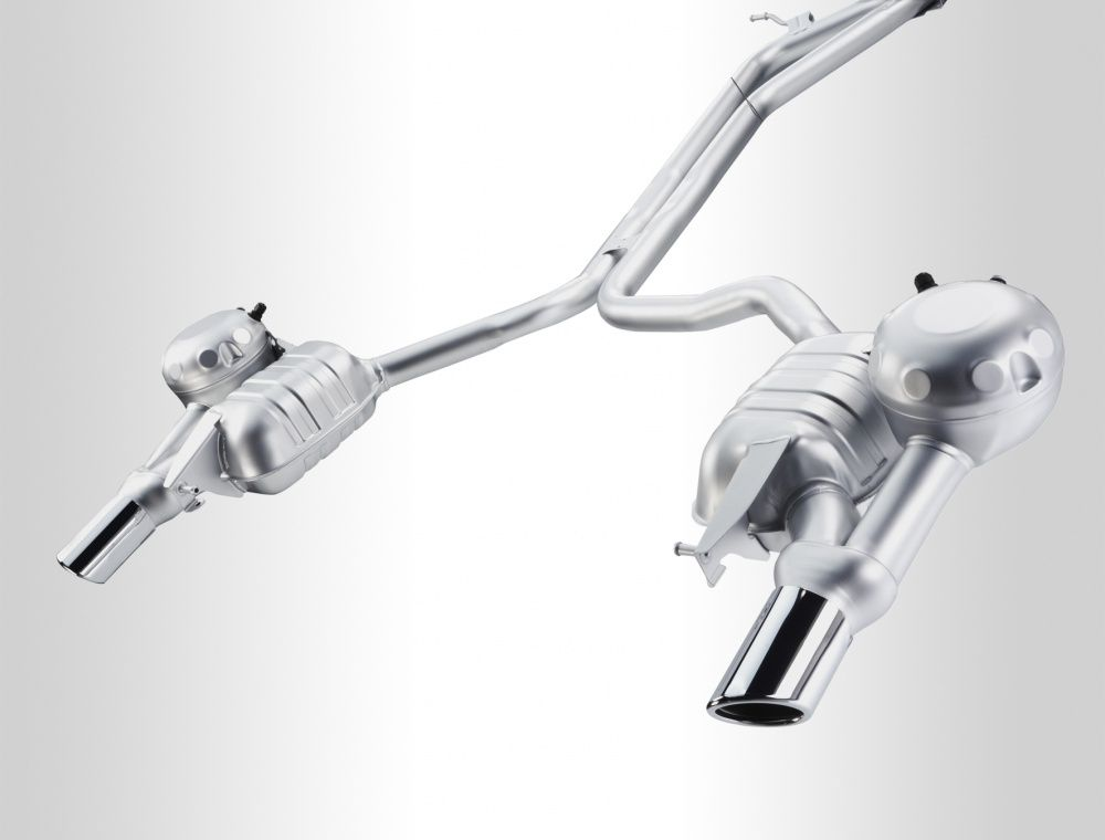 Audi a6 activesound exhaust system