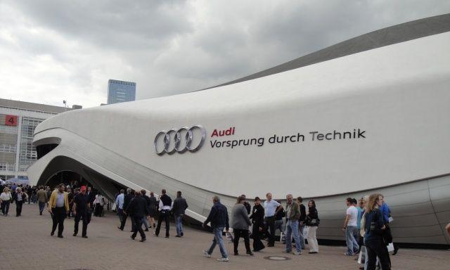 Audi Agora na targach Frankfurt 2011