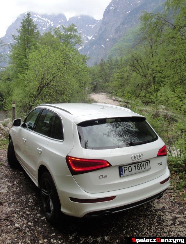 Audi Q5 3.0 TFSI na tle gór