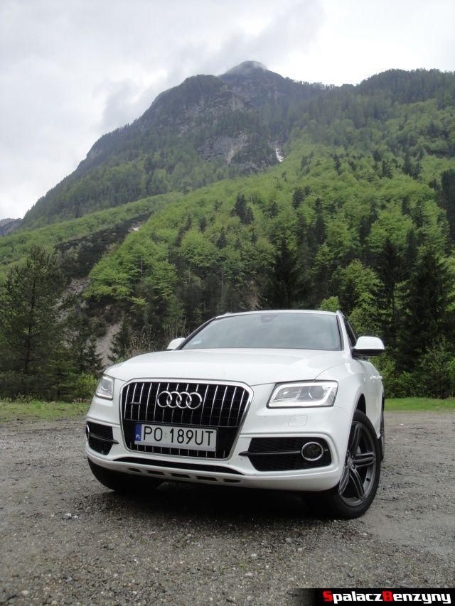Audi Q5 3.0 TFSI przód w górach