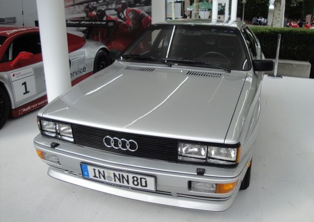 Audi Quattro na targach Frankfurt 2011