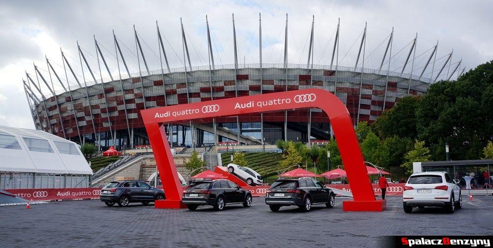 Audi quattro Stadion Narodowy 2015