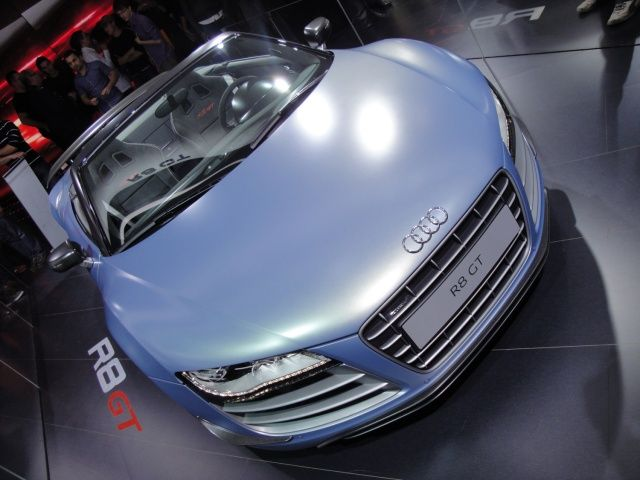 Audi R8 GT na targach Frankfurt 2011