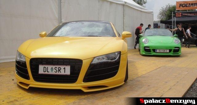 Audi R8 i Porsche na Worthersee 2013