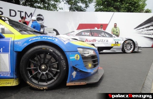 Audi R8 LMS i Audi RS5 MTD na Worthersee 2013