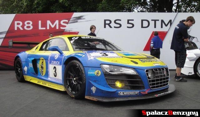Audi R8 LMS przód bok na Worthersee 2013