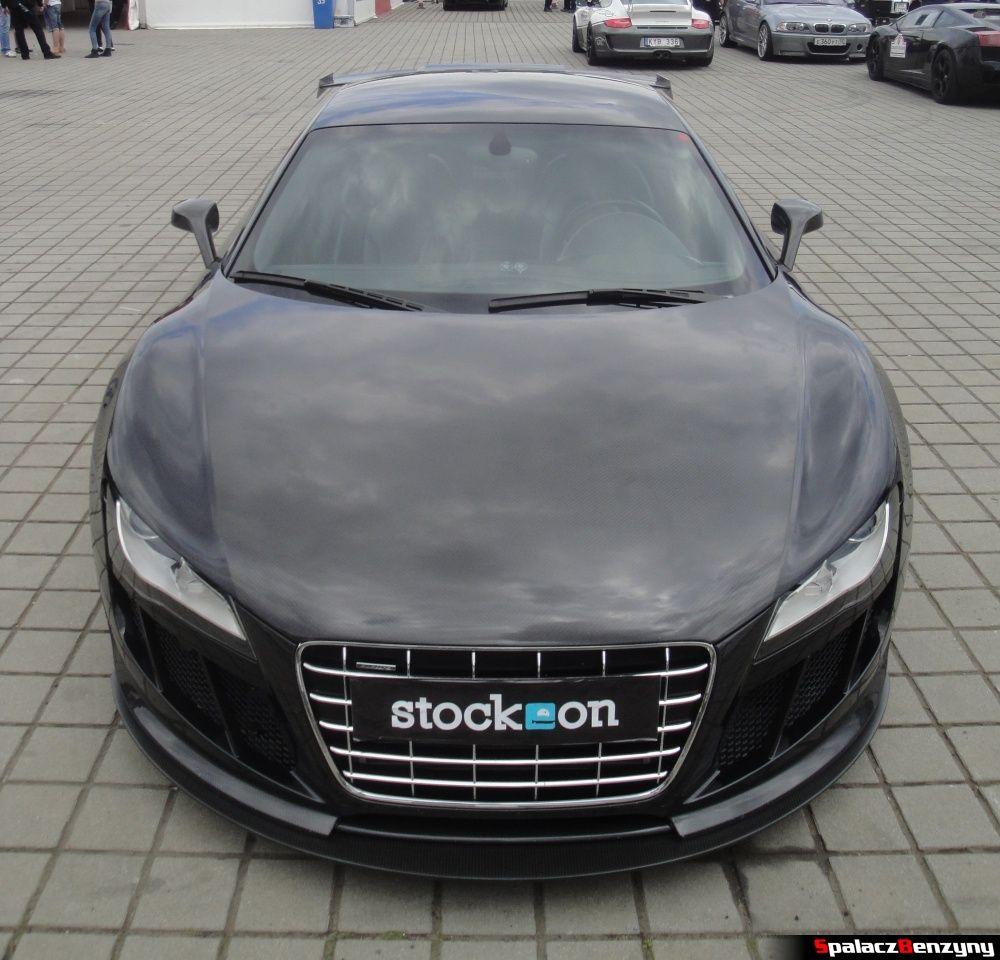 Audi R8 stockeon na torze w Poznaniu na Gran Turismo Polonia 2013