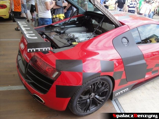 Audi R8 V10 MTM w Reifnitz na Worthersee 2013