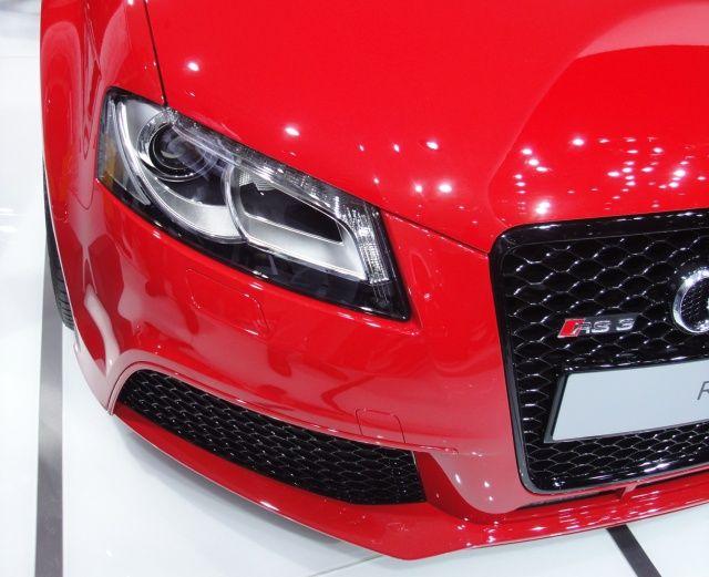Audi RS3 na targach Frankfurt 2011