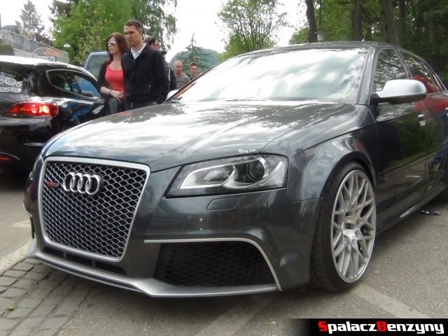 Audi RS3 szare grill na Worthersee 2013
