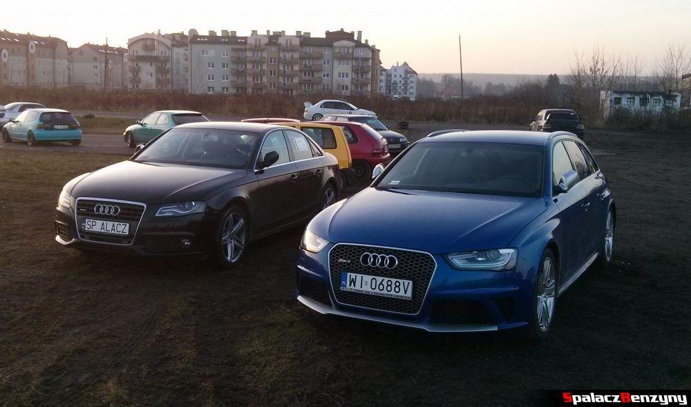 Audi RS4 i Audi A4 na Kryterium Asów 2013