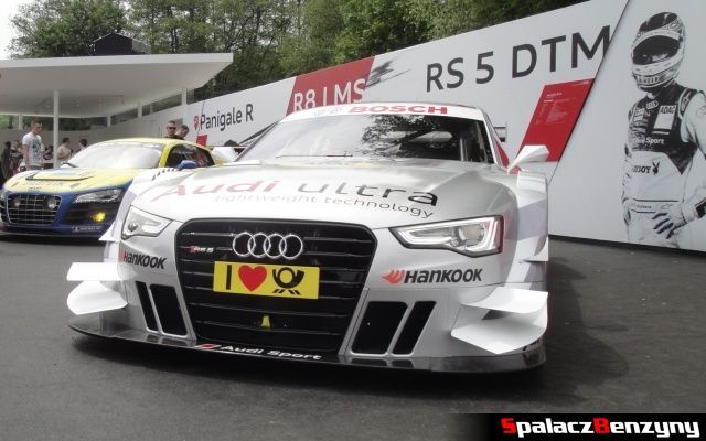 Audi RS5 DTM na Worthersee 2013