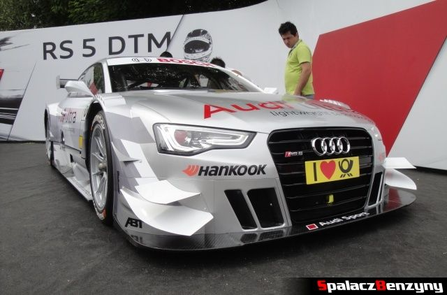 Audi RS5 DTM przód na Worthersee 2013