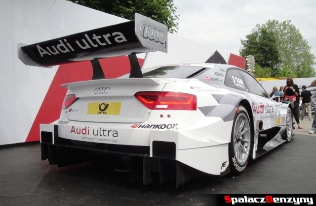 Audi RS5 DTM z tyłu na Worthersee 2013