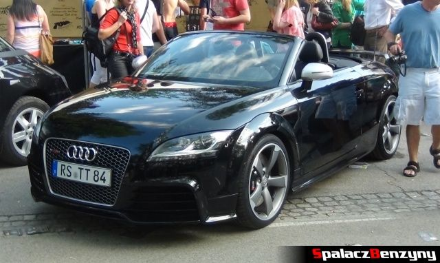 Audi RS TT kabriolet na Worthersee 2013