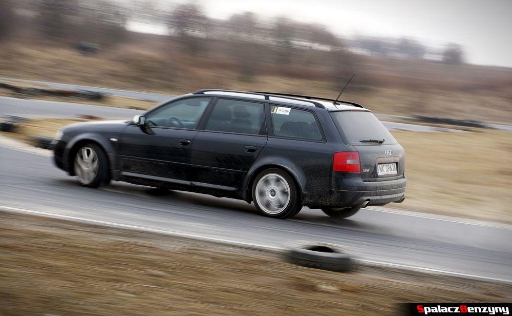Audi S6 czarne na RS Kulig 2014 Tor Lublin