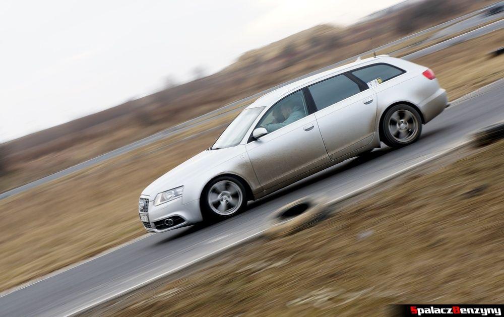 Audi S6 srebrne na RS Kulig 2014 Tor Lublin