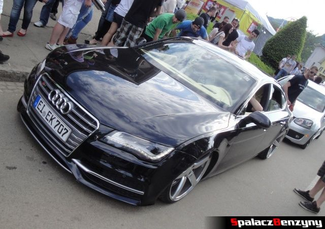 Audi S7 czarne na Worthersee 2013