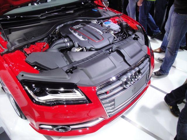 Audi S7 na targach Frankfurt 2011