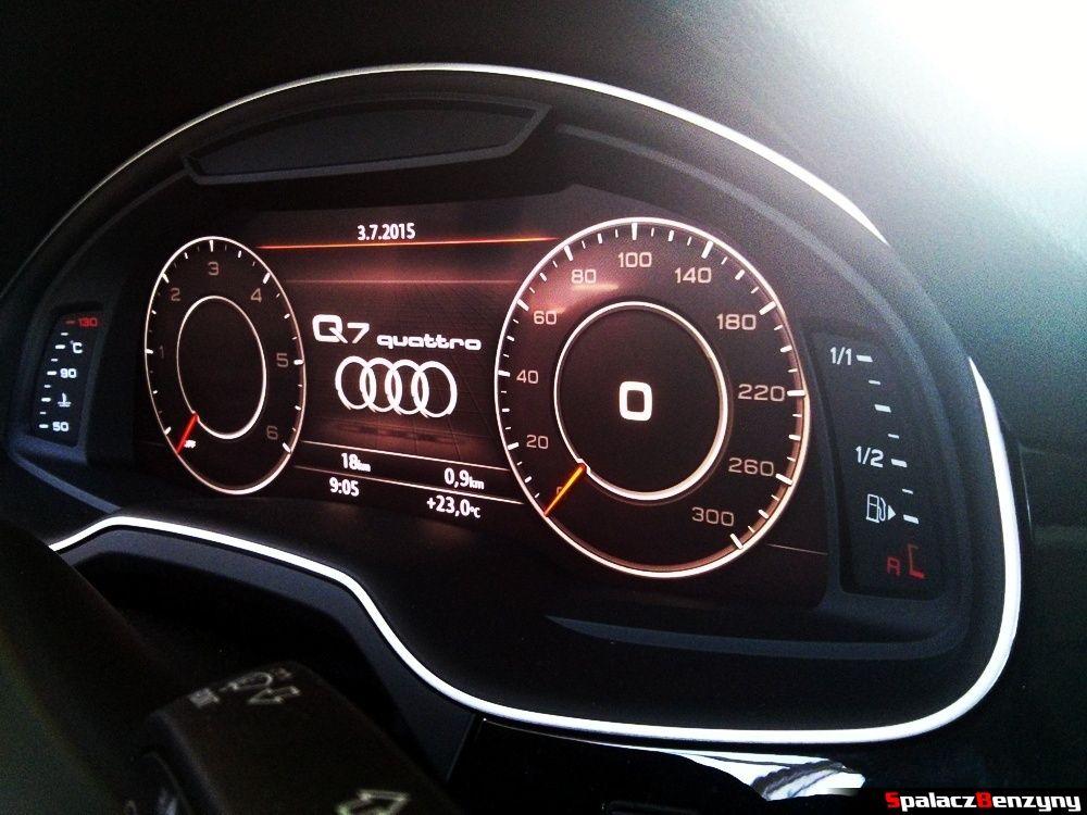 Audi virtual cockpit w Audi Q7